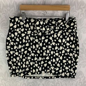 Material Girl Skirt with Bow Detail